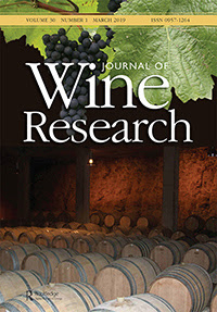 Journal of Wine Research cover