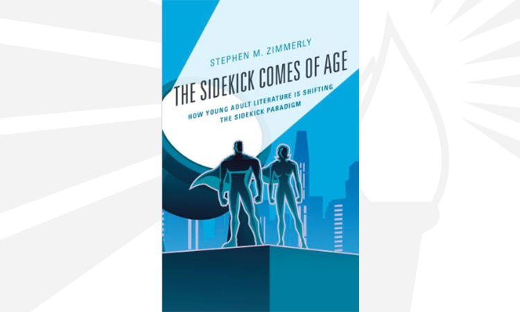 the sidekick comes of age book cover