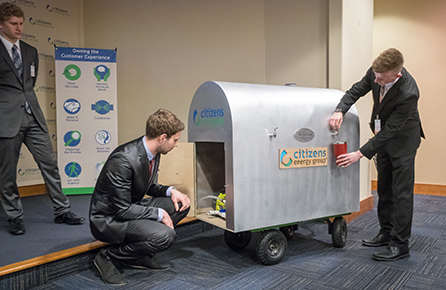 Engineering Students Present Mobile Water Source
