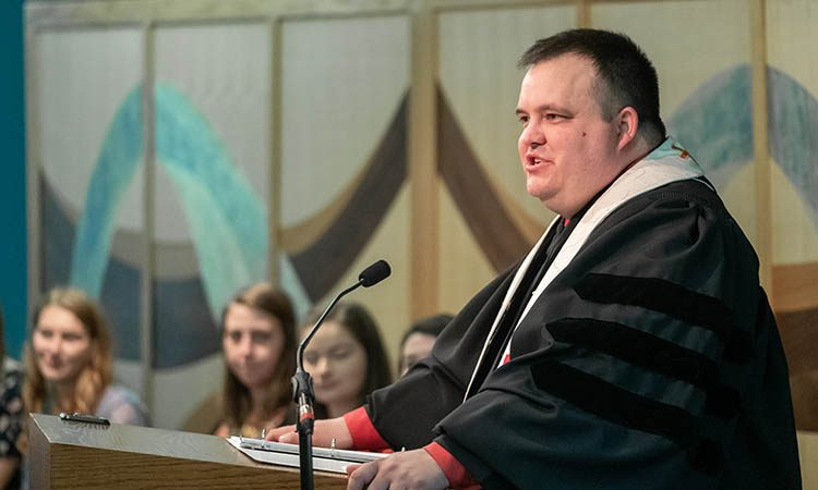 University Chaplain Jeremiah Gibbs