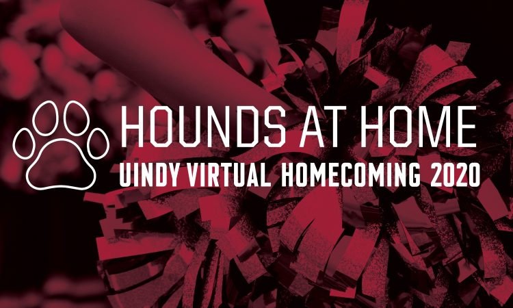 Hounds at Home Virtual Homecoming graphic
