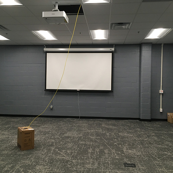 The newly renovated R.B. Annis Hall at 3750 S. Shelby St. will be the new home of the R.B. Annis School of Engineering starting in the Spring 2021 semester.