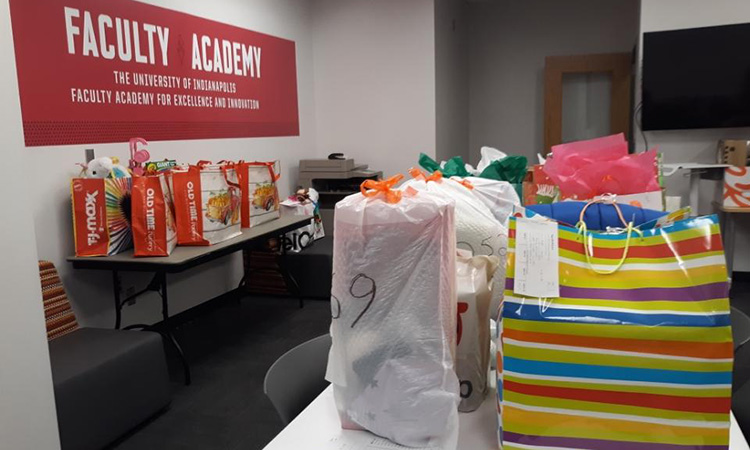 Christmas gifts for foster children