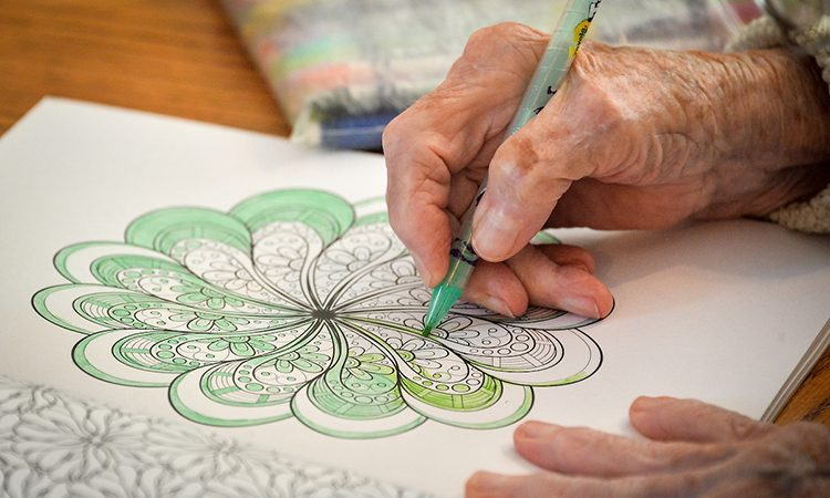 Art therapy at Joy's House, Indianapolis